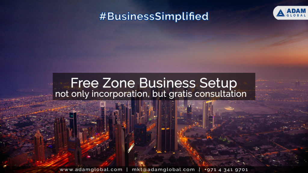 Business setup in Dubai Free zone